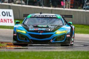 #57 Heinricher Racing w/Meyer Shank Racing Acura NSX GT3: Alvaro Parente, Misha Goikhberg