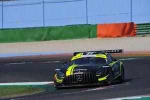 Lorenzo Ferrari, Daniel Zampieri, AKM Motorsport, MERCEDES AMG GT3