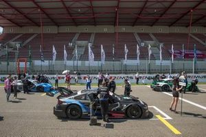 Starting grid, Lucas Auer, BMW Team RMG, BMW M4 DTM