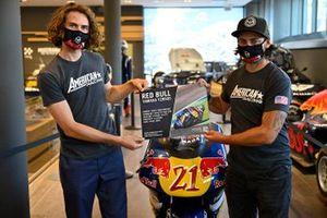 Joe Roberts, Moto2, mit John Hopkins