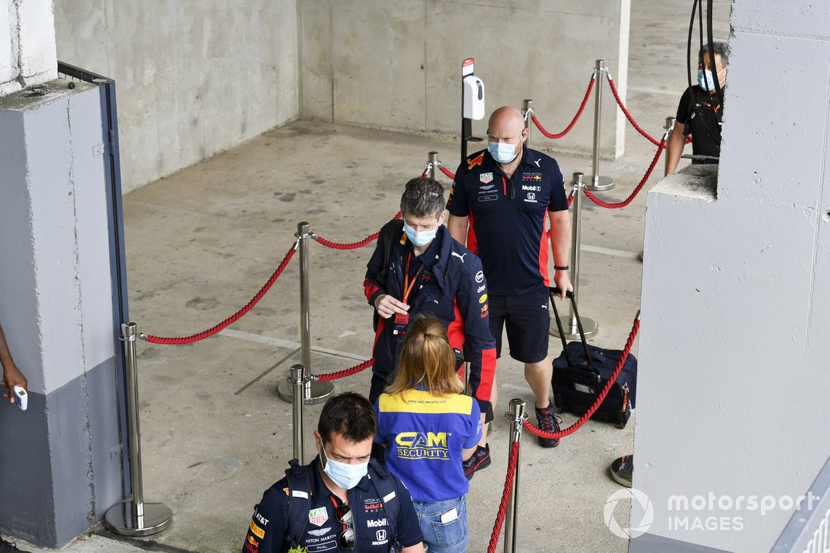 Ingenieros de Red Bull Racing