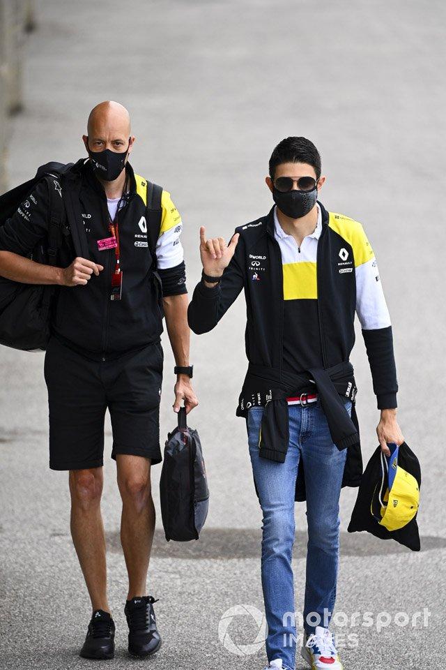 Esteban Ocon, Renault F1