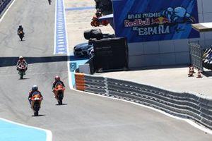 Raúl Fernández, Red Bull KTM Ajo, Kaito Toba, Red Bull KTM Ajo