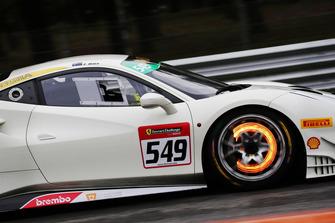 Ferrari 488 #549, Continental Cars NZ: David Dicker