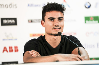 Pascal Wehrlein, Mahindra Racing, in the press conference