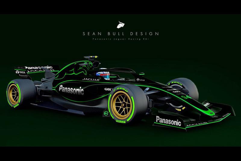 Раскраска Jaguar для концепта №2