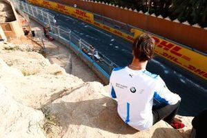 Antonio Felix da Costa, BMW I Andretti Motorsports, regarde les essais