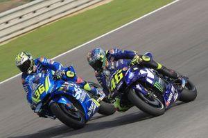 Joan Mir, Team Suzuki MotoGP, Valentino Rossi, Yamaha Factory Racing