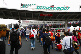The entrance to the circuit