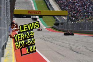 Tabella per Lewis Hamilton, Mercedes AMG F1