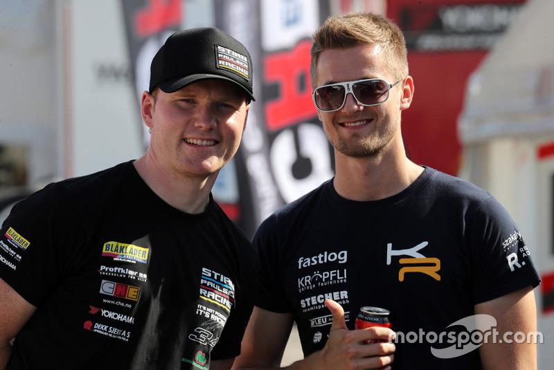 Stian Paulsen, Stian Paulsen Racing Cupra TCR, Kris Richard, Target Competition Hyundai i30 N TCR