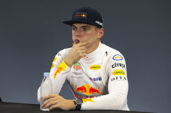 Max Verstappen, Red Bull Racing in de persconferentie
