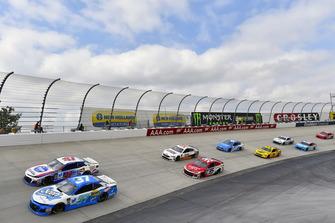Chris Buescher, JTG Daugherty Racing, Chevrolet Camaro Scott Products e A.J. Allmendinger, JTG Daugherty Racing, Chevrolet Camaro Kroger ClickList