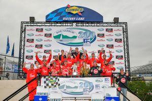 Christopher Bell wins the Bar Harbor Christopher Bell, Joe Gibbs Racing, Toyota Camry Rheem