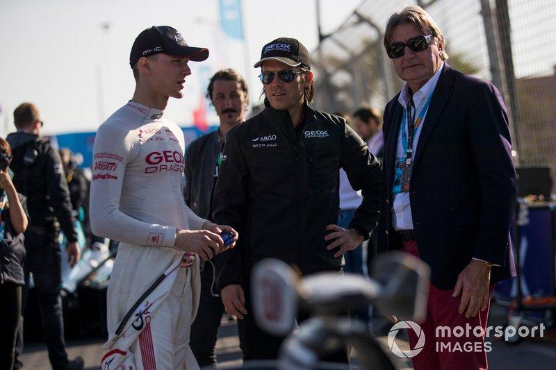 Maximilian Gunther, Dragon Racing, on the grid