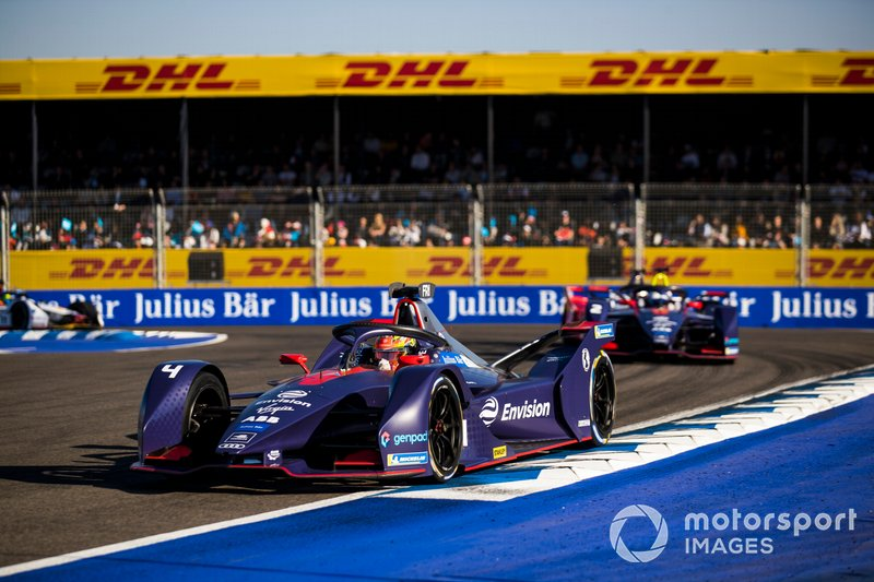 Robin Frijns, Envision Virgin Racing, Audi e-tron FE05, Sam Bird, Envision Virgin Racing, Audi e-tron FE05