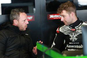 Fabien Foret, Jonathan Rea, Kawasaki Racing
