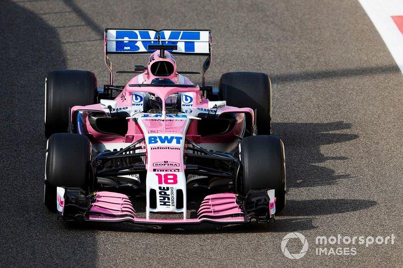 Lance Stroll, Racing Point Force India VJM11: 1:37415 (Hiperblando 2018)