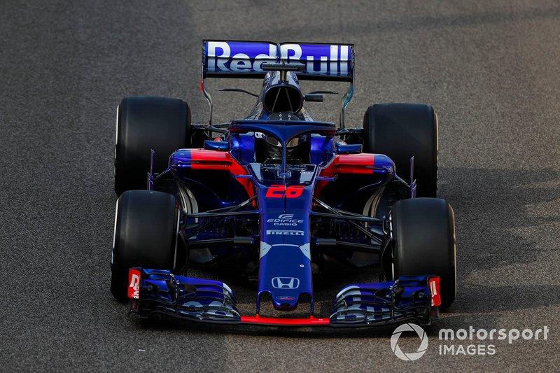 2018 : Toro Rosso STR13, à moteur Honda