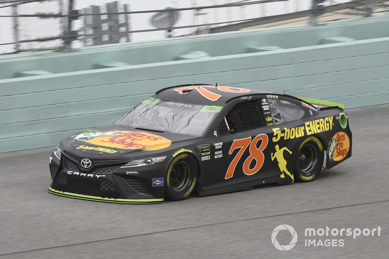 2. Martin Truex Jr. (Furniture-Row-Toyota): P2 im Rennen