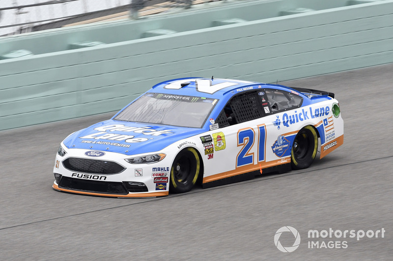 22. Paul Menard, Wood Brothers Racing, Ford Fusion Quick Lane Tire & Auto Center