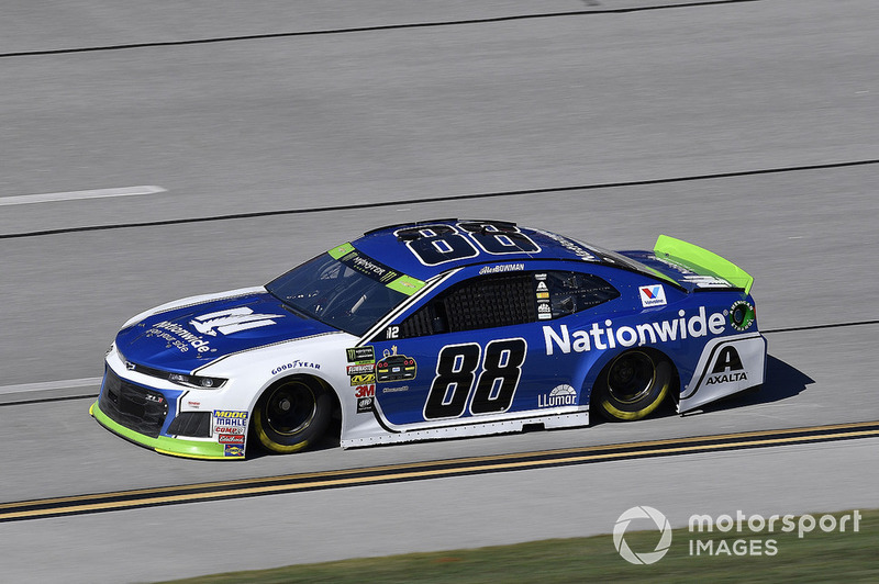 7. Alex Bowman, Hendrick Motorsports, Chevrolet Camaro Nationwide