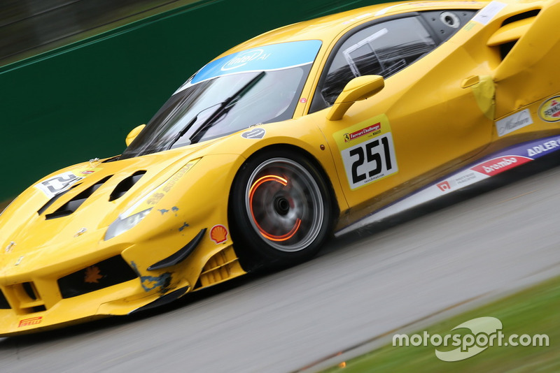 Ferrari 488 #251, Ferrari of Washington: Rob Hodes