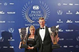 Campeonato del mundo de rallycross de la FIA: Johan Kristoffersson (piloto) y PSRX Volkswagen Suecia (equipo)