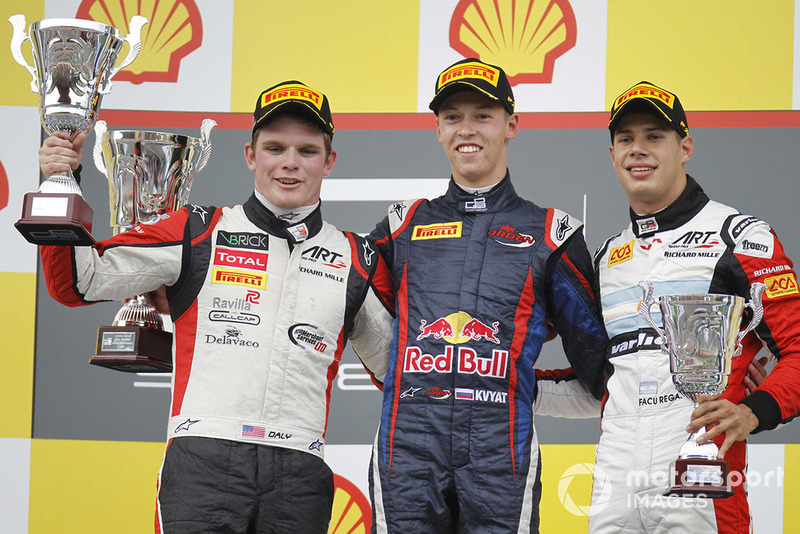Le podium du GP3 Series 2013