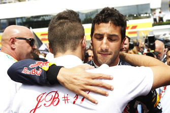 Daniel Ricciardo, Red Bull Racing, y Tom Bianchi