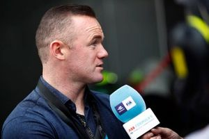 Footballer Wayne Rooney speaks to the media
