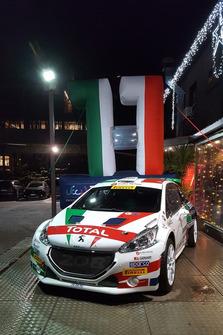 La Peugeot 208 T16 R5 di Paolo Andreucci e Anna Andreussi, Peugeot Sport Italia