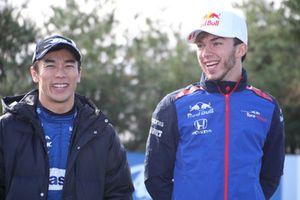 佐藤琢磨、ピエール・ガスリー(Honda Racing THANKS DAY 2018)