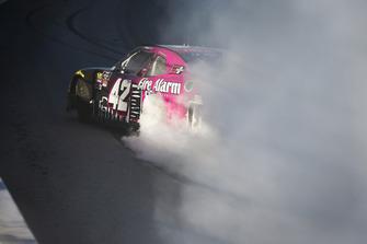 Race winner John Hunter Nemechek, Chip Ganassi Racing, Chevrolet Camaro