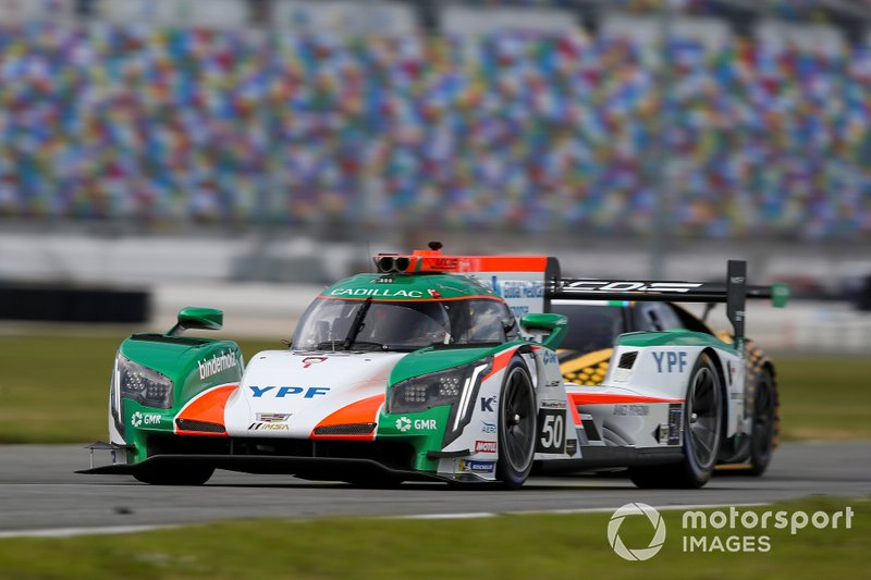 Agustín Canapino y el Juncos Racing en acción en Daytona
