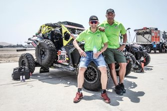 Хоан Фонт и Хуан Феликс Браво Агилар, FN Speed Team, Can-Am Maverick X3 (№368)