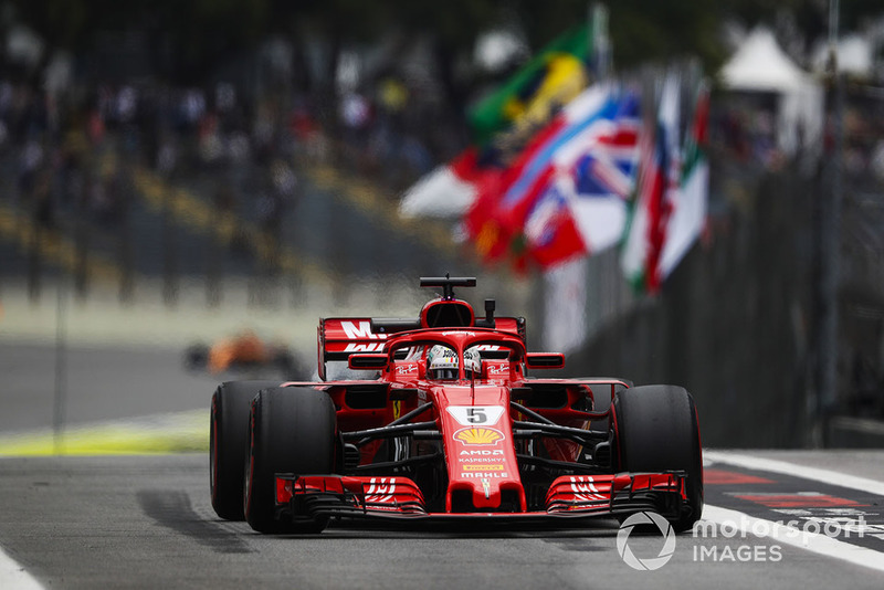 Vettel was furious to be called for a weight check in middle of qualifying
