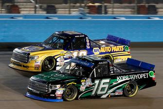 Brett Moffitt, Hattori Racing Enterprises, Toyota Tundra KOBE Derek Kraus, Bill McAnally Racing, Toyota Tundra NAPA Auto Parts