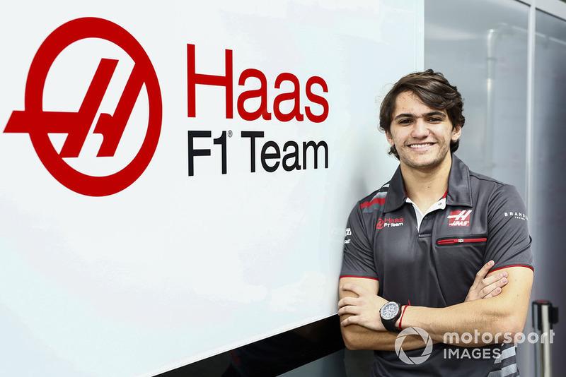 Pietro Fittipaldi, piloto probador oficial de Haas para 2019