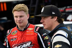 Tyler Dippel, GMS Racing, Chevrolet Silverado America First/Turning Point USA and Sheldon Creed, GMS Racing, Chevrolet Silverado AM Ortega/United Rentals