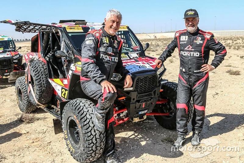 #343 Rafa Tornabell (izquierda en la foto, copiloto), South Racing Can-Am