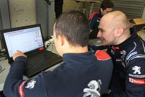 Marko Knab, Editor Motorsport.com Deutschland with the Peugeot 308 TCR