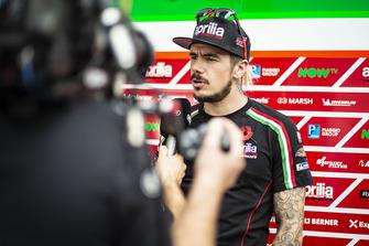Scott Redding, Aprilia Racing Team Gresini, TV interview