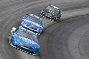 Ryan Blaney, Team Penske, Ford Fusion PPG, Ricky Stenhouse Jr., Roush Fenway Racing, Ford Fusion Fastenal, Kurt Busch, Stewart-Haas Racing, Ford Fusion Monster Energy / Haas Automation