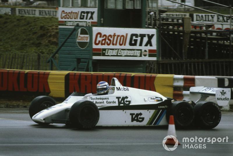 Keke Rosberg, Williams FW08B