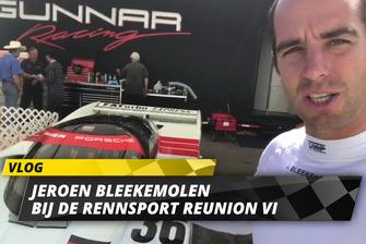 Jeroen Bleekemolen op de Porsche Rennsport Reunion IV