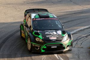 Paolo Porro,Paolo Cargnelutti, Ford Fiesta WRC, Bluthunder