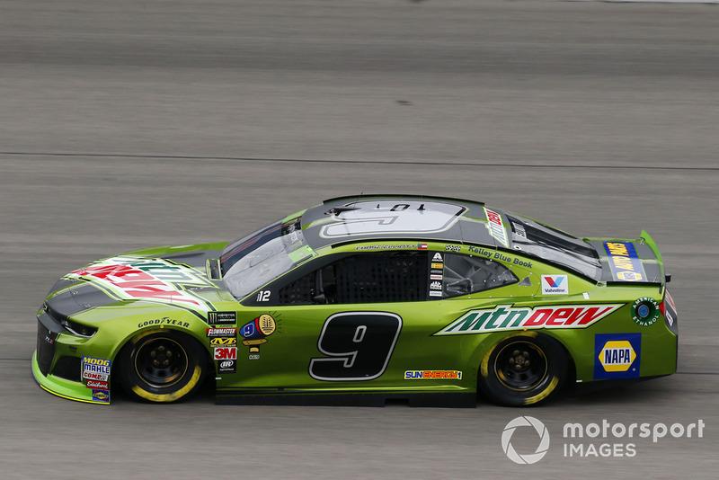13. Chase Elliott, Hendrick Motorsports, Chevrolet Camaro Mountain Dew