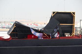 Podium nach Regen und Sturm am Losail International Circuit in Katar