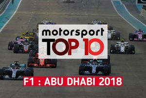 Top 10 du GP d'Abu Dhabi
